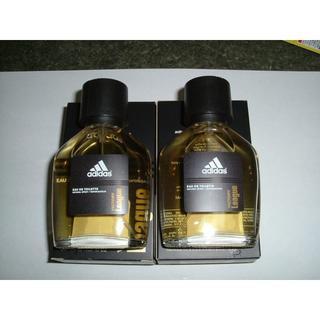 アディダス(adidas)の計2本 未使用 男性用オーデトワレ adidasヴィクトリーリーグ 各50ml(香水(男性用))