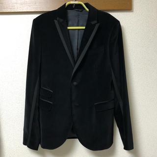 ニールバレット(NEIL BARRETT)の定価約20万 ニールバレット ベロア テーラード ジャケット ブルゾン コート(テーラードジャケット)