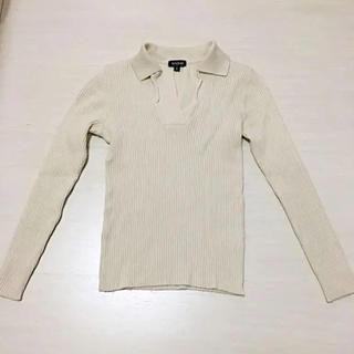 クーカイ(KOOKAI)のKOOKAI ニット セーター オフホワイト イタリア製(ニット/セーター)