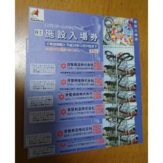 スパリゾートハワイアンズの入場券☆6枚セット!!(プール)