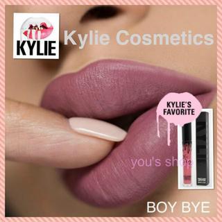 カイリーコスメティックス(Kylie Cosmetics)の【新品】正規品100%◆カイリーコスメティック◆ベルベット◆Boy Bye◆(口紅)