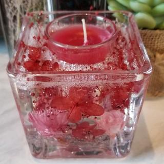アロマキャンドル ラズベリーの香り