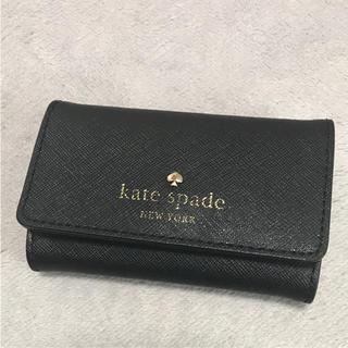 ケイトスペードニューヨーク(kate spade new york)のkate spade ケイトスペード キーケース ブラック(キーケース)