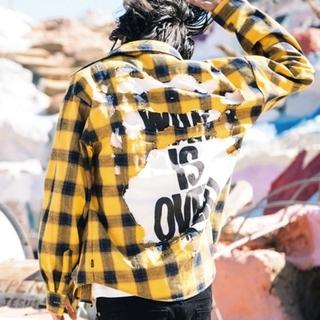 グラム(glamb)のおまけ(2着)付き glamb パトリックチェックシャツ(シャツ)
