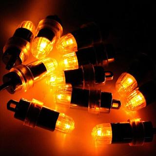LEDライト 9個 電球色 風船 豆電球(蛍光灯/電球)