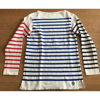 オーシバル(ORCIVAL)のorcivalオーチバル クレイジーパターン バスクシャツ(Tシャツ/カットソー(七分/長袖))