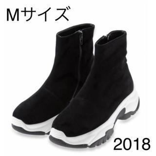 SNIDEL 2018 ジップ スニーカー ソール
