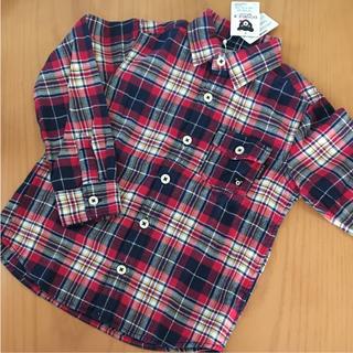 ダブルビー(DOUBLE.B)の新品 ダブルビー  チェックシャツ(ブラウス)