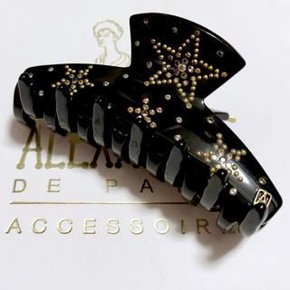 アレクサンドルドゥパリ(Alexandre de Paris)のアレクサンドルドゥパリ クリップ プリュイデトワール ブラック(バレッタ/ヘアクリップ)