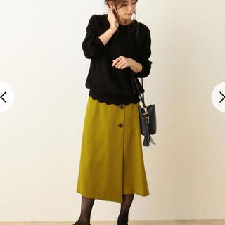 エニィファム(anyFAM)のエニィファム ラップ風 スカート サイズ3(ひざ丈スカート)