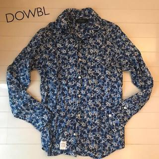 ダブル(DOWBL)のダブル DOWBL 極美品 #42 M 総柄 花柄 長袖 トップス シャツ(シャツ)