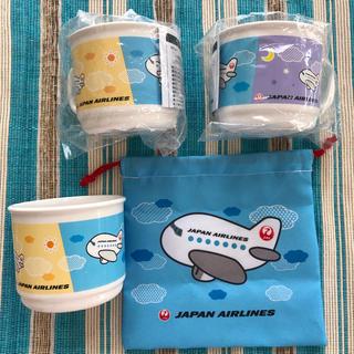 ジャル(ニホンコウクウ)(JAL(日本航空))の【新品・未開封】JALコップ&コップ袋(マグカップ)
