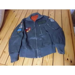 BW/ドイツ軍・連邦軍*レザー/牛革製フライトジャケット*BW3号(実物)(戦闘服)