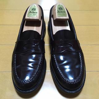 オールデン(Alden)のALDEN × Brooks Brothers ペニーローファー コードバン(ドレス/ビジネス)