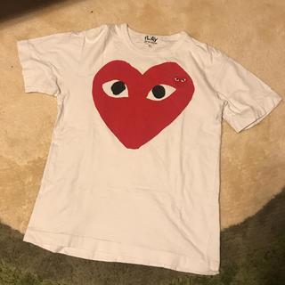 コムデギャルソン(COMME des GARCONS)のPLAY COMME des GARCONS 定番Tシャツ(Tシャツ(半袖/袖なし))