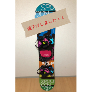 ☆ SPOON BOMBER15-16☆送料無料!ビンディング付!!(ボード)