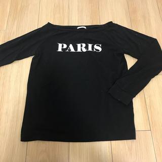 ジーユー(GU)の❤︎シンプル黒T❤︎(Tシャツ(長袖/七分))