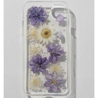 新品 定価2808円  花びら舞い散るiPhoneケース iPhone6、7