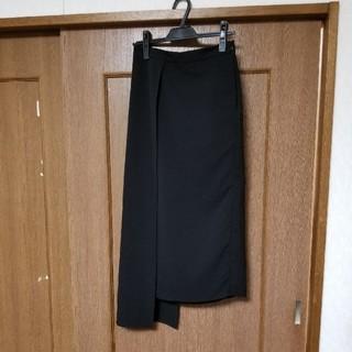 アメリヴィンテージ(Ameri VINTAGE)のAMERI スカート ブラック sizeM(ロングスカート)