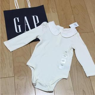 ベビーギャップ(babyGAP)の新品☆baby GAP 襟付きロンパース(ロンパース)
