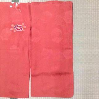 【確認用】アンティーク♡濃桃色地牡丹菊梅橘模様一つ紋付正絹中振袖(振袖)
