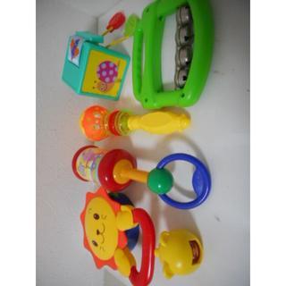 ベビー用おもちゃ ベネッセ・トイロイヤル・ベビートイズなど 6点セット(がらがら/ラトル)