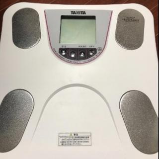 ★即日発送★ タニタ 体重・体組成計 乗るピタ機能(体重計/体脂肪計)