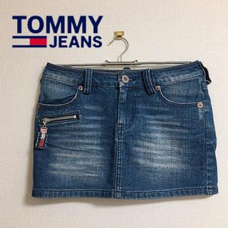 トミー(TOMMY)のTOMMY jeans デニムスカート(ミニスカート)
