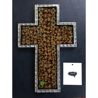 アンダーカバー(UNDERCOVER)のレア UNDER COVER×TRASH コラボ  十字架 壁掛け クロス(インテリア雑貨)