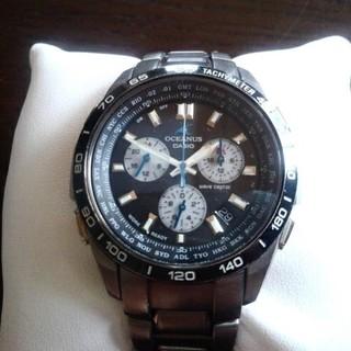 カシオ(CASIO)のCASIO カシオ OCEANUS オシアナス OCW-600 電波ソーラー(腕時計(アナログ))