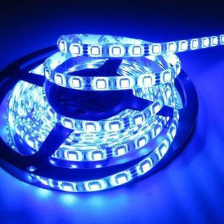 ALITOVE 5m LEDテープ・イルミネーション 防水 ブルー(蛍光灯/電球)
