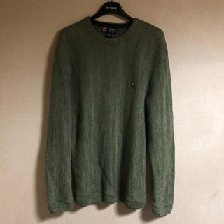 チャップス(CHAPS)の[古着屋購入]CHAPS セーター グリーン Lサイズ(ニット/セーター)