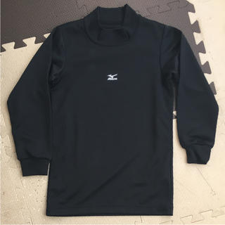 ミズノ(MIZUNO)のミズノ アンダーシャツ ブラック 130 美品(ウェア)