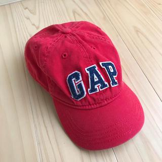 ベビーギャップ(babyGAP)のused♡babyGAP  キャップ レッド(帽子)