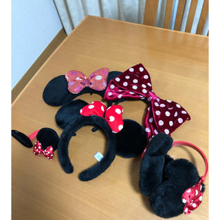 ディズニー(Disney)のミニーちゃんカチューシャセット(カチューシャ)