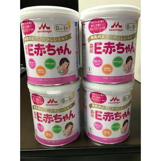モリナガニュウギョウ(森永乳業)の森永 E赤ちゃん 300g×4缶(その他)