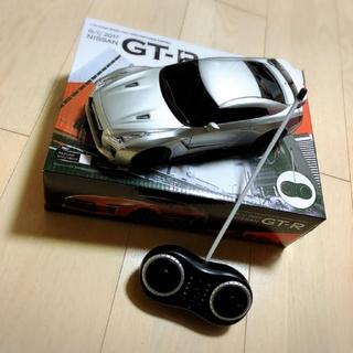 ニッサン(日産)の値下げ!日産 GTR 2017型 ラジコン 新品に近い(トイラジコン)