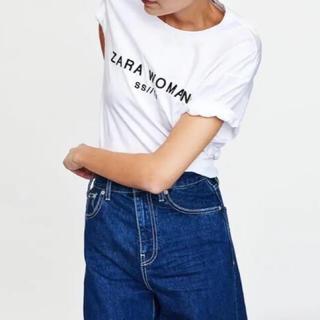ザラ(ZARA)の完売 今季 ZARA ロゴ Tシャツ 半袖(Tシャツ(半袖/袖なし))
