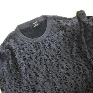 カバンドズッカ(CABANE de ZUCCa)のCABANE de ZUCCA  穴開きデザイン カットソー(Tシャツ/カットソー(七分/長袖))