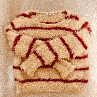 ジャイロホワイト(JAYRO White)のふわふわシャギーセーター(ニット/セーター)