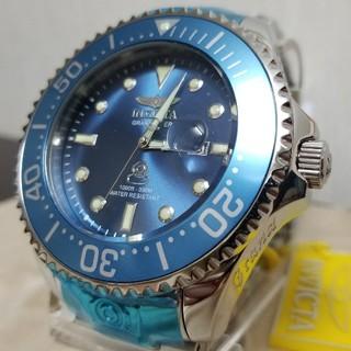 インビクタ(INVICTA)のInvicta 54mm グランドダイバー ブルーダイヤル&ハイポリッシュブレス(腕時計(アナログ))