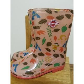 モンベル(mont bell)のモンベル☆レインブーツ☆19cm(長靴/レインシューズ)