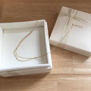 ジュピターゴールドレーベル(jupiter GOLD LABEL)のJupiter  ネックレス  K10YG(ネックレス)