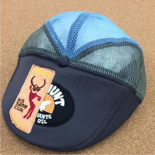 ディーゼル(DIESEL)の55DSL    ハンチング帽  メッシュ ハンチング帽  ワッペン  (ハンチング/ベレー帽)