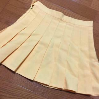 モモイロクローバーゼット(ももいろクローバーZ)のももクロ 参戦服 黄色 玉井詩織 ミニスカート(ミニスカート)