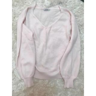 ティティアンドコー(titty&co)のアンゴラ セーター(ニット/セーター)