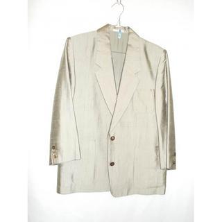 ニコル(NICOLE)のマダムニコル レディース シルク スカート スーツ ベージュ(スーツ)