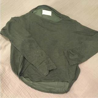 マルタンマルジェラ(Maison Martin Margiela)のmaison margiela トップス(Tシャツ(長袖/七分))