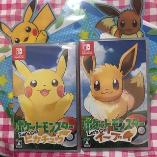 Nintendo Switch - ポケットモンスター Let's Go! ピカチュウ&イーブイ