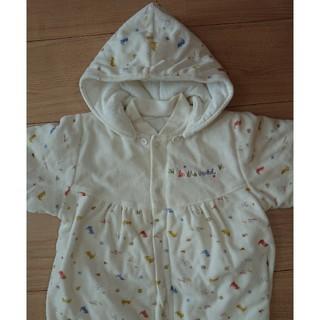 ニシキベビー(Nishiki Baby)のニシキ  わんちゃん柄ジャンプスーツ  着ぐるみ  50~70(カバーオール)